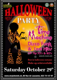 Time Machine Halloween Party
