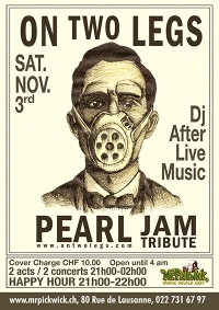 On Two Legs Pearl Jam tribute band