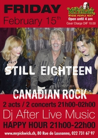 Still Eighteen Canadian Rock