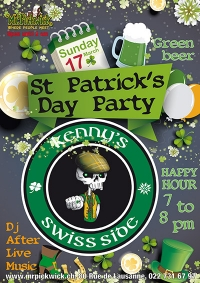 Kennys Swiss Side- St Patrick's Day