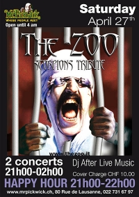 The Zoo- Scorpions Tribute Band