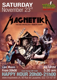 Magnetika- Metallica Tribute