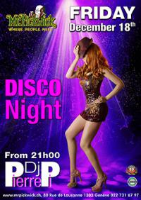 Disco Night w/ DJ Pierre Pi