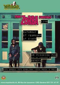 Zorba Freaks @ The lounge bar